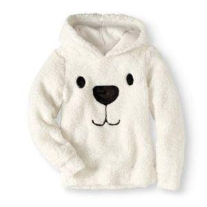 Plush Fleece Panda Hoodie